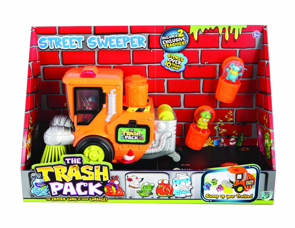 Amazoncom Trash Pack The Street Sweeper Toys  Games