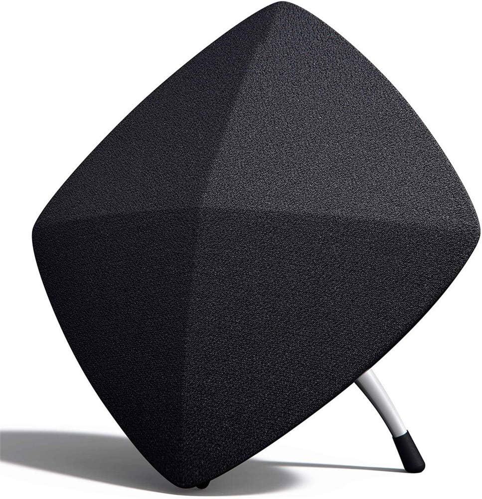 N / A Altavoces Bluetooth para Cine en casa, Altavoces Activos Agudos, Material plástico, diseño de Contorno de Diamante, Hermoso y Duradero, emparejamiento estéreo inalámbrico