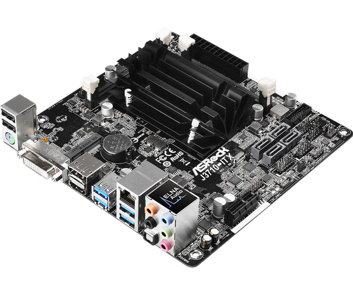 Asrock J3710-ITX NA (CPU integrada) Mini ITX - Placa Base (SO-DIMM, DDR3-SDRAM, DDR3L-SDRAM, Dual, Intel, PC, Intel): Amazon.es: Informática