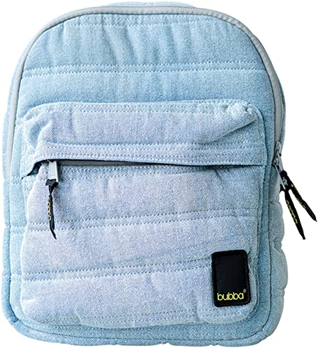 Bubba Bags Canadian Design Backpack Matte Mini Limited Edition Denim Light Blue