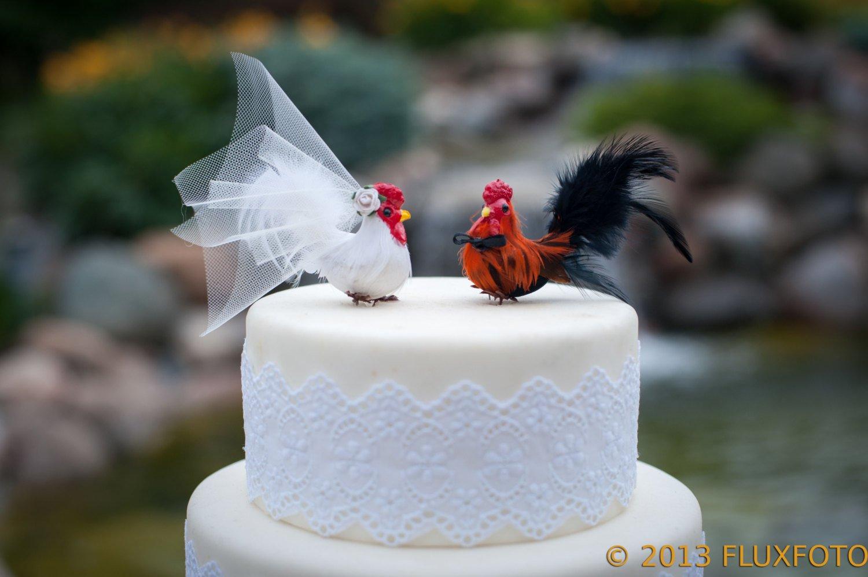 Amazon.com: Barnyard Chicken Cake Topper: \