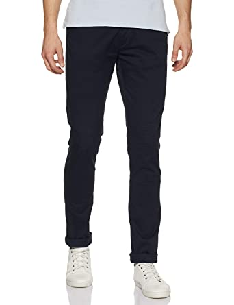 Arrow Sports Men's Casual Trousers Men's Casual Trousers at amazon