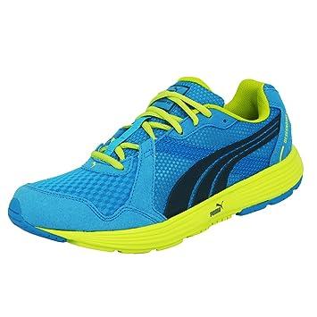 0f36a5d76f74 Puma DESCENDANT V2 Blue Men Running Shoes Evertrack  Amazon.co.uk ...