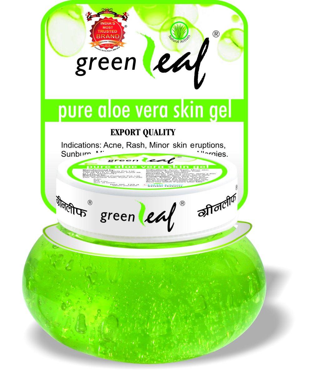 Green Leaf Pure Aloe Vera Skin Gel, 500g product image