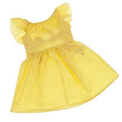 Homyl Vestido de Fiesta de Dama para Bebés Capas con Volantes Floral Ropa Floral de Niños