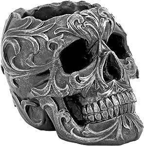 Death's Grip Skull Pen and Pencil Holder
