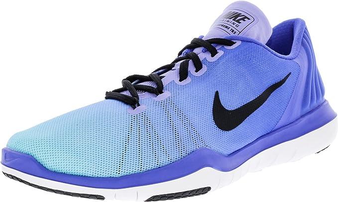 0f6ddcaaba2f Nike Women s Flex Supreme TR 5 Training Shoe Medium Blue Black Still Blue  Size 8 M US  Amazon.co.uk  Shoes   Bags