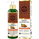 Morpheme Sweet Almond Pure Coldpressed Carrier Oil, 120ml - Useful for Hair, Skin