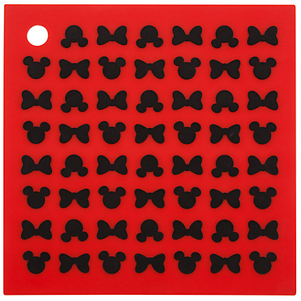 Mickey and Minnie Mouse Icons Colorful Kitchen Silicone Trivet | Kitchen Essentials | Disney Store