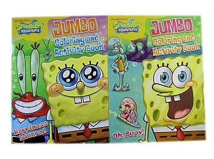Amazon.com: Spongebob Squarepants 2pc Coloring & Activity ...