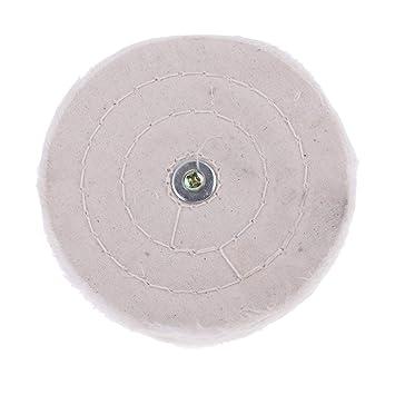 Disco de pulido con vástago de 6 mm de algodón para pulido ...
