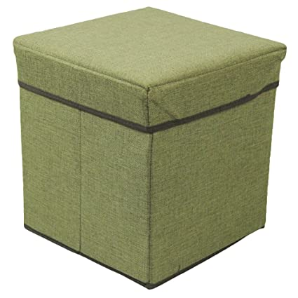 shuohu cubeta tela almacenamiento banco sofá Otomano Asiento ...