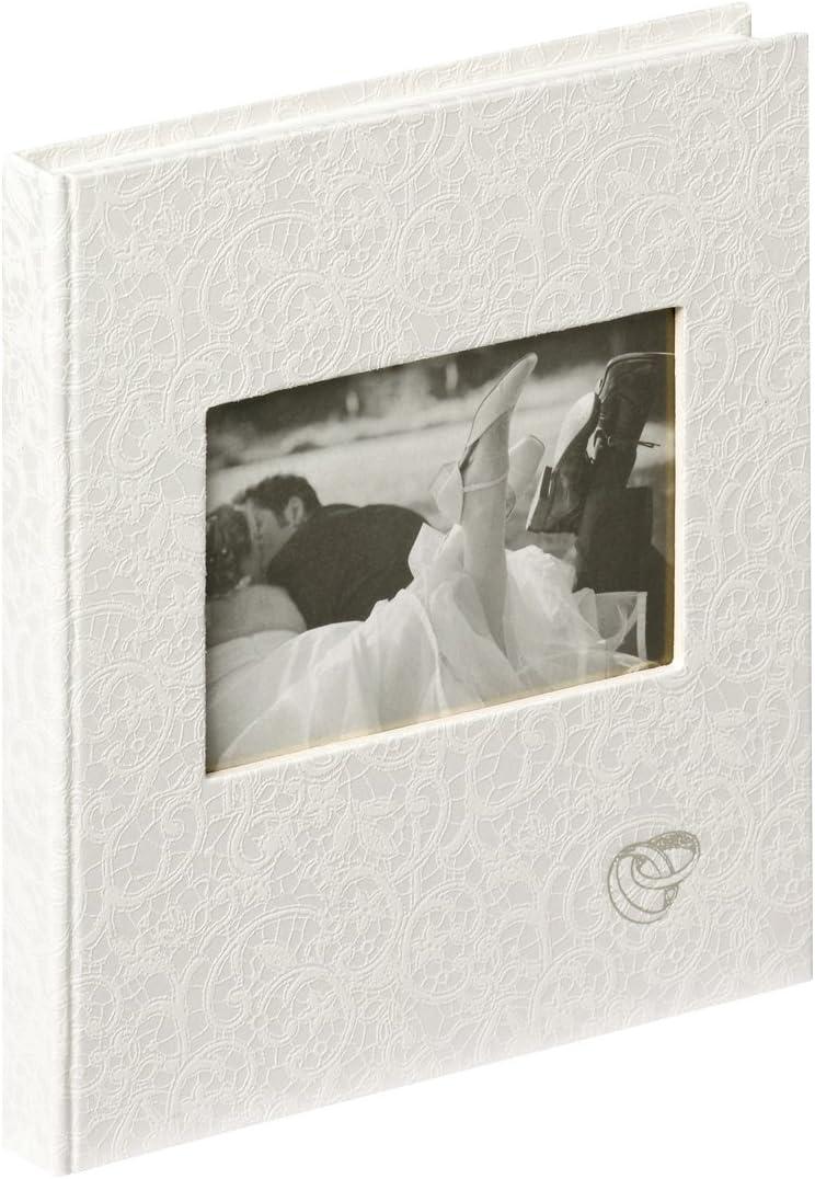 Walther Design GB-107 Music Libro para ceremonia de bodas, 144 páginas en blanco, 23 x 25 cm