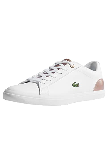 c66819506 Lacoste Junior White Pink Lerond 318 3 Sneakers-UK 2