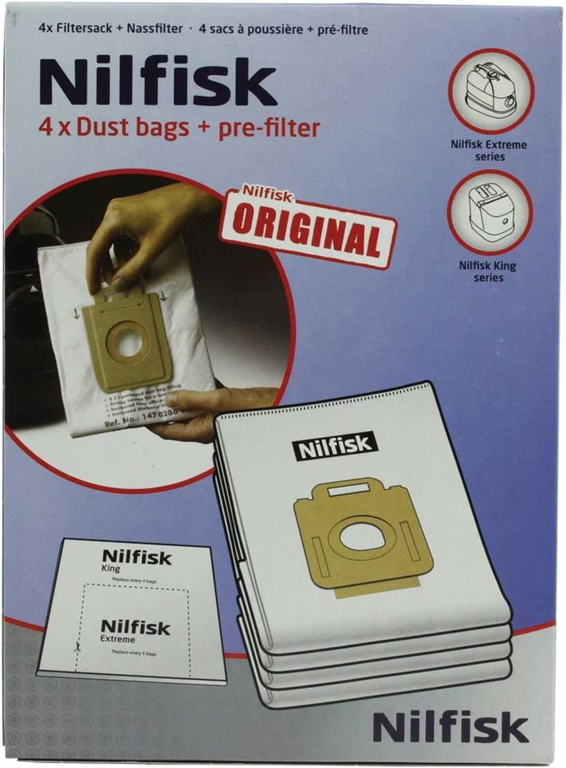 NILFISK - Bolsa aspirador Nilfisk Extrem original: Amazon.es ...