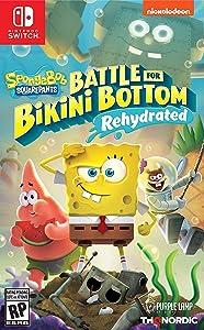 Spongebob Squarepants: Battle for Bikini Bottom - Rehydrated - Nintendo Switch Standard Edition