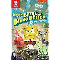 Spongebob Squarepants: Battle for Bikini Bottom - Rehydrated - Nintendo Switch Standard...