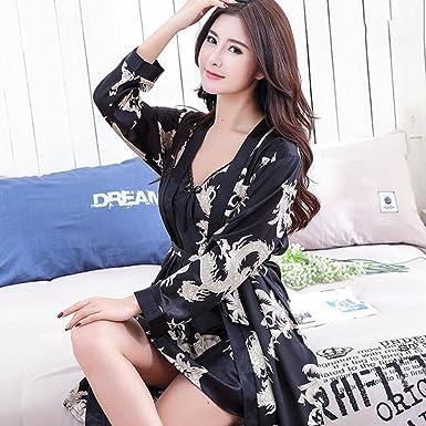 Lou Lou Panties Kleid-Kimono-Kleid der Frauen der Männer, luxuriöser ...