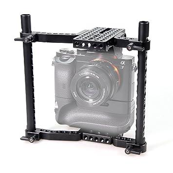 SMALLRIG VersaFrame Cage Jaula para Canon 1DC, Nikon D3X, Sony a7s ...