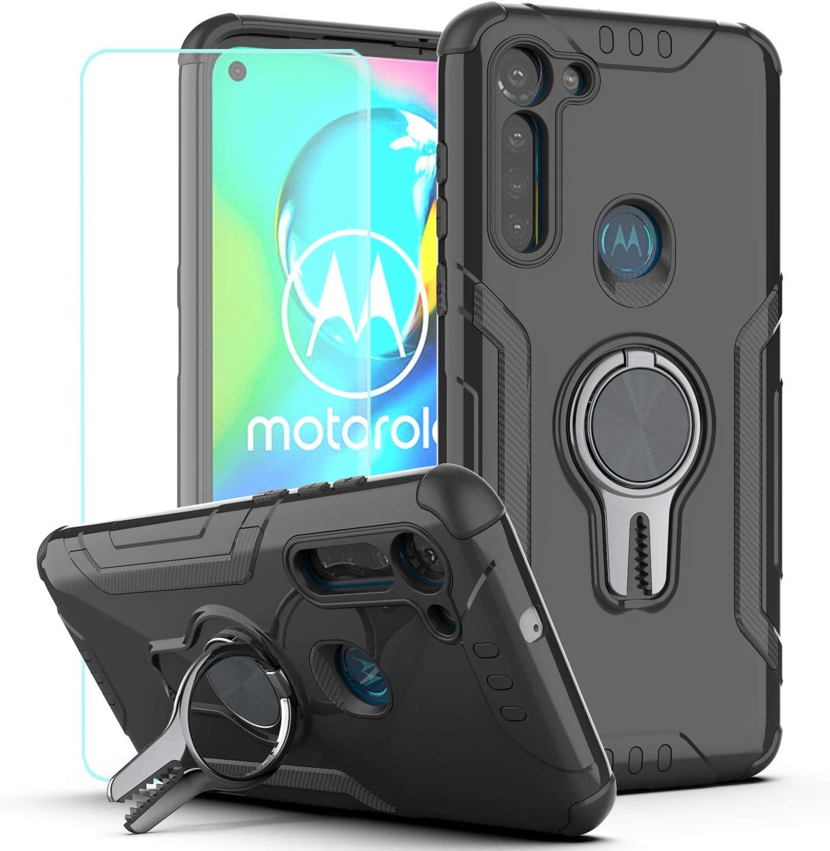 Funda negra para Motorola Moto G8 Power