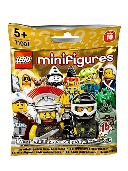 Amazon Com Lego Minifigures Series 10 Blind Bag 71001 Toys Games
