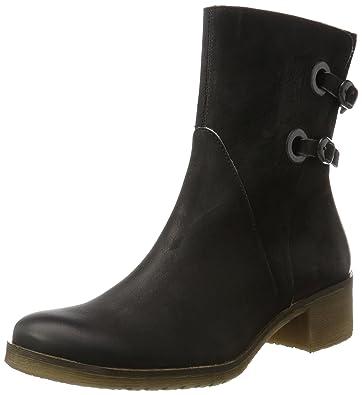 Kickers Damen Mila Desert Boots, Schwarz (Noir Trche Grise), 40 EU