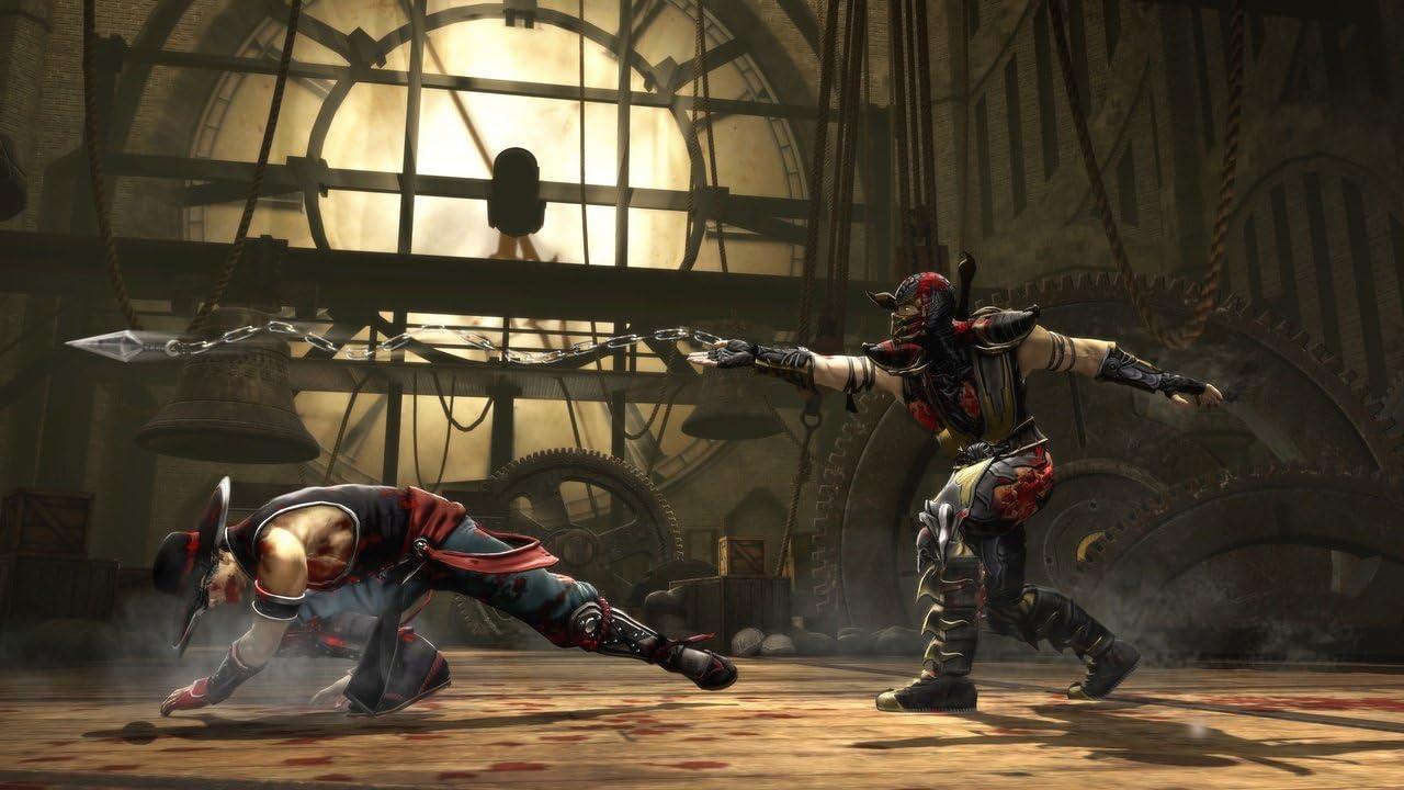 Mortal kombat 9 порно мини играми