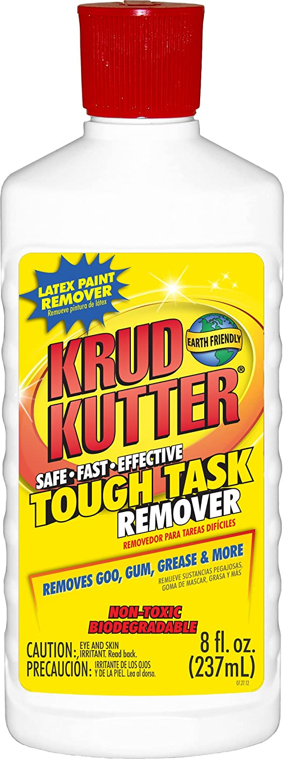 KRUD KUTTER KR08/6 Tough Task Remover Flip Top Bottle, 8-Ounce