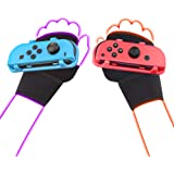 LeyuSmart Wrist Straps for Just Dance 2021 2020 2019 Switch, Hand Free Elastic Wristband for Nintnedo Switch Dancing Accessor