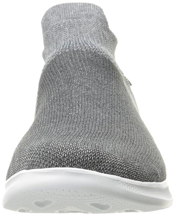 Skechers 14507 - Zapatilla Baja de Sintético Mujer, Color Negro, Talla 39.5 EU