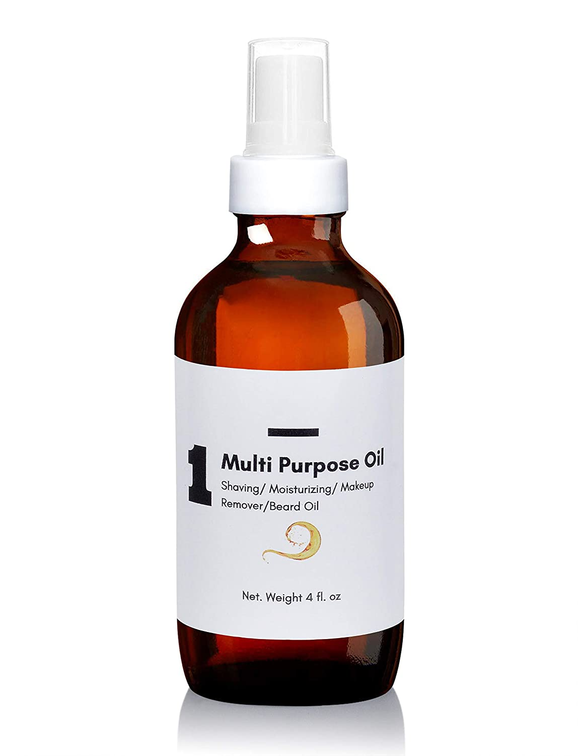 Multiuse Dry Body Oil - 4 oz- Makeup Remover, Baby oil, Cleansing Oil, Hair & skincare oil. Carrier oils: MCT, Almond, Avocado,Vitamin E, Prickly Pear oil. For stretch marks & scars