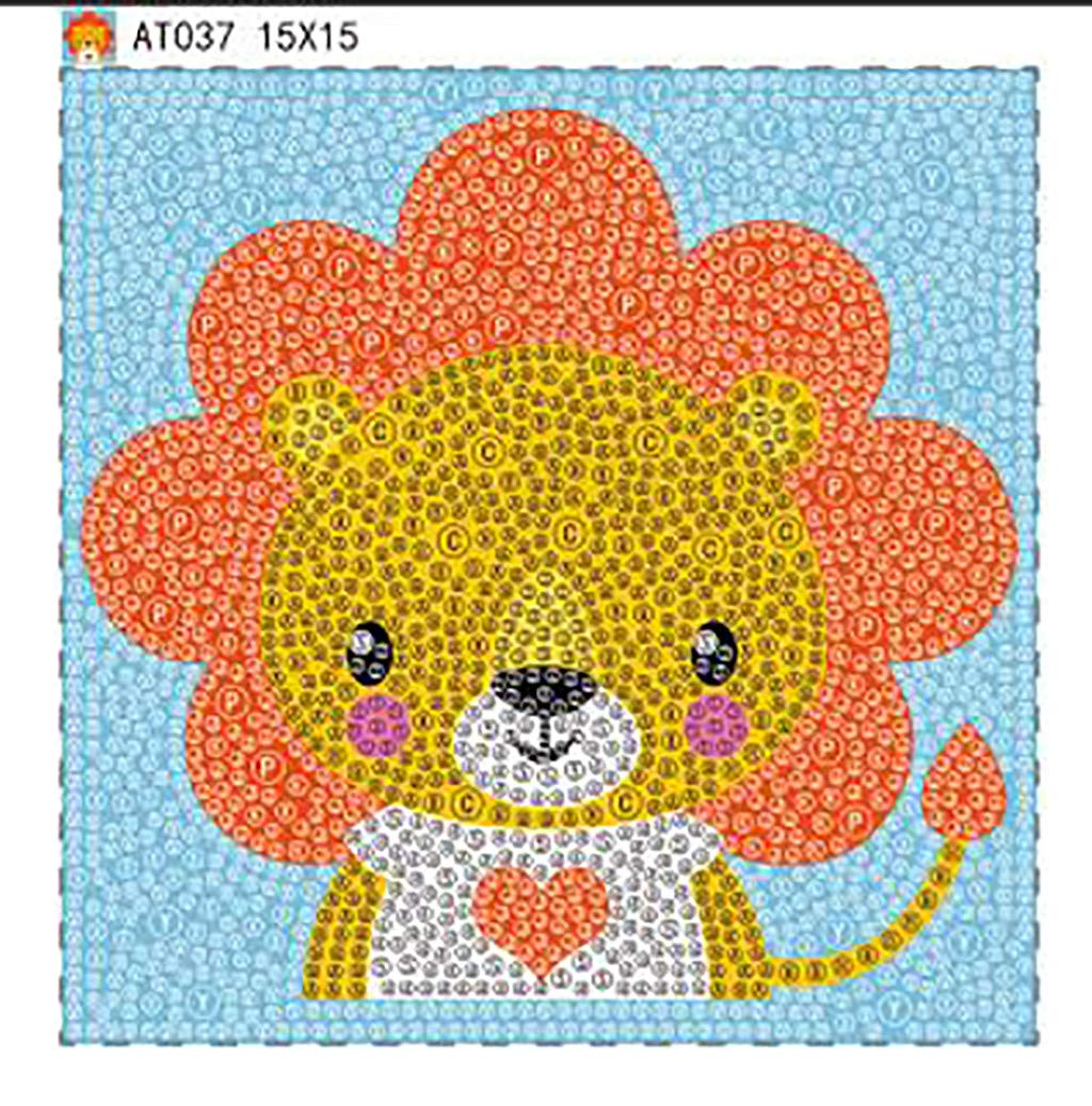 Yumeart The Cow Color Mosaic Diamond Painting Cross Stitch Crystal Needlework 100/% Full Area Diamond Resin Arts Crafts Home Decorative