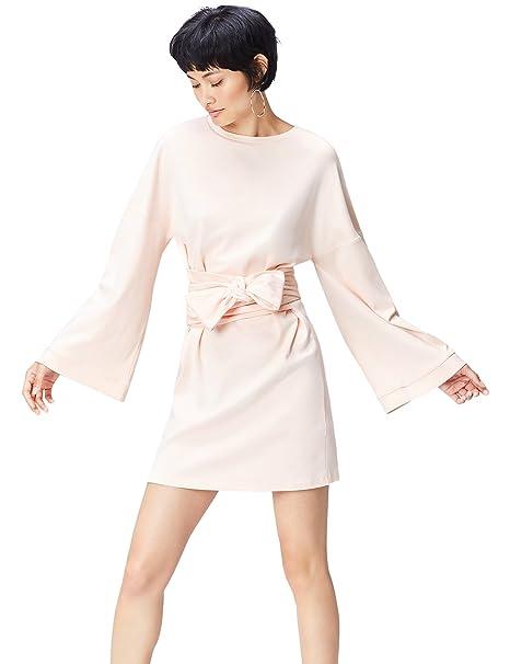 540ca0ce905c FIND Vestito con Fusciacca e Fiocco Donna  Amazon.it  Abbigliamento