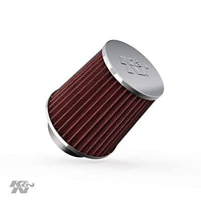 K&N Universal Clamp-On Air Filter: High Performance, Premium, Replacement Engine Filter: Flange Diameter: 2.75 In, Filter Height: 4.5 In, Flange Length: 1 In, Shape: Round Tapered, RG-1003RD-L: Automotive