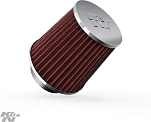 K&N Universal Clamp-On Air Filter: High Performance, Premium, Replacement Engine Filter: Flange Diameter: 2.75 In, Filter Height: 4.5 In, Flange Length: 1 In, Shape: Round Tapered, RG-1003RD-L