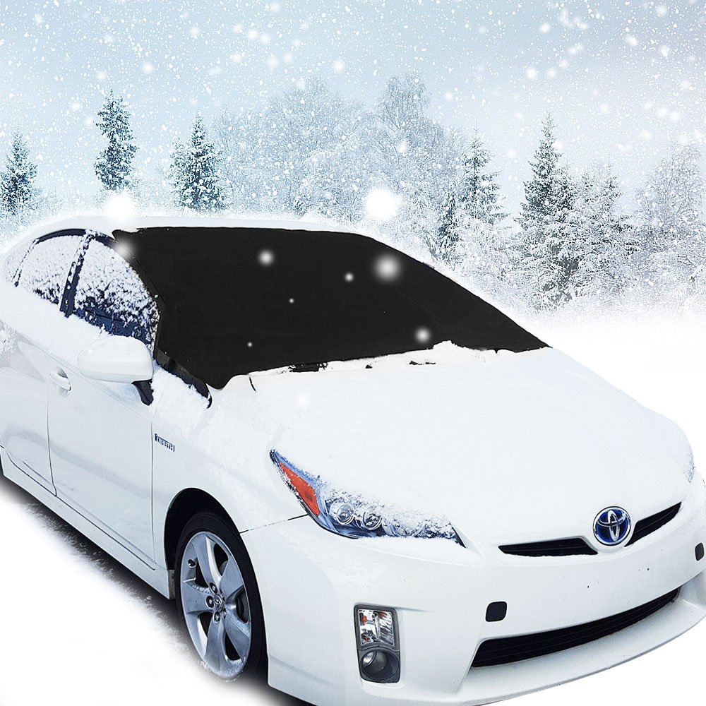 Migimi Windshield Snow Cover Magnetic Ice Sun Frost Screen Cover 160 x 118 cm