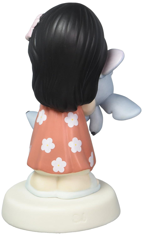 Precious Moments Disney Showcase Collection Ohana Mau Loa Means Family Forever Bisque Porcelain Figurine 163033