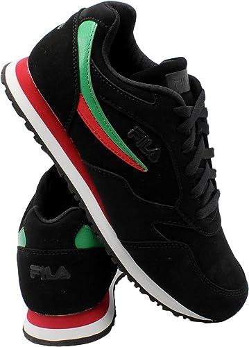 Fila Mens Classico 18 Sneaker - Black