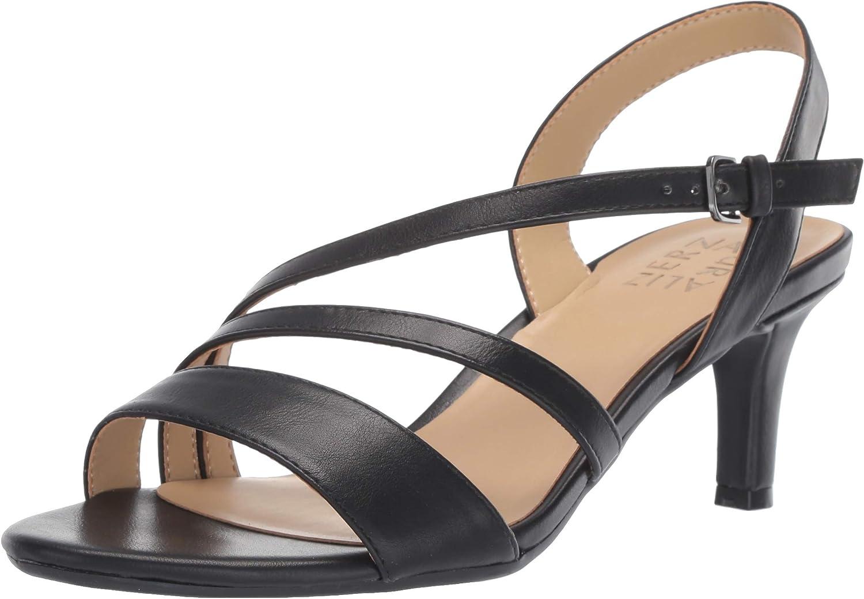 Naturalizer Womens Platform Sandals in Black Color, Size 8