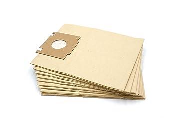 vhbw 10 x Bolsas de papel para aspiradoras, robot aspiradora ...