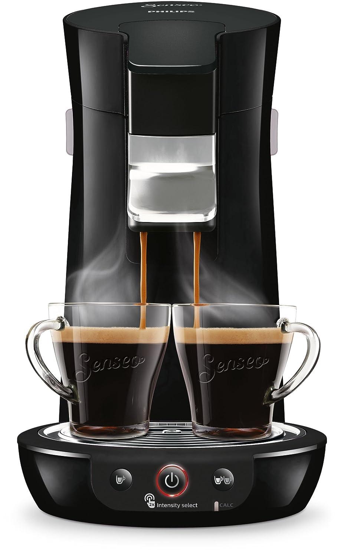Senseo HD6563/60 - Cafetera (Independiente, Máquina de café en cápsulas, 0,9 L, Dosis de café, 1450 W, Negro): Amazon.es: Hogar