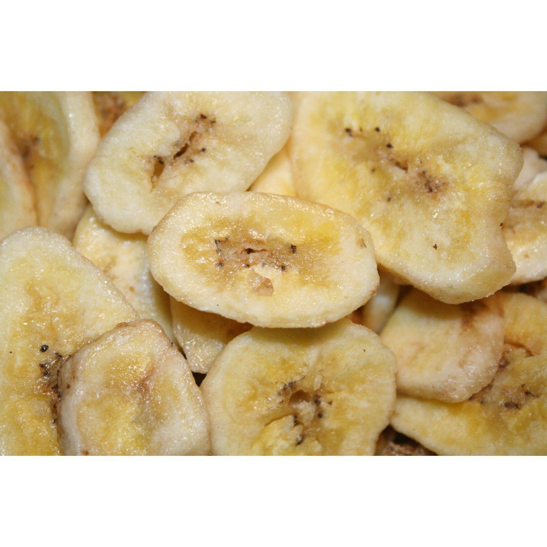 Banana Chips Organic Sweetened, 5lbs