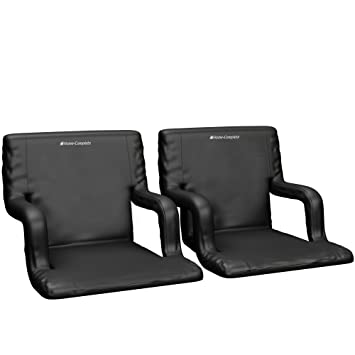 Wide Stadium Seats Chairs For Bleachers Or Benches   Enjoy Extra Padded  Cushion Backs And Armrests
