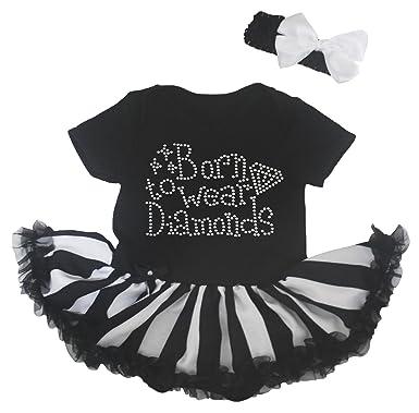 Petitebelle - Body - Robe - Bébé (fille) 0 à 24 mois noir noir 0-3 ... 6ff55746c4c