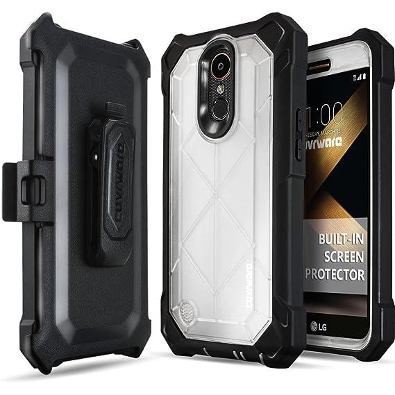 newest 9ff7b 738be LG K20 Plus / K20 V/Harmony Case, COVRWARE [Ranger Pro] Built-in [Screen  Protector] Full Body Rugged Holster Armor Case [Belt Swivel  Clip][Kickstand], ...