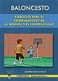Baloncesto. Ejercicios para el entrenamiento de la defensa y el contraataque