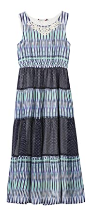 fe28eaf2ec71 Amazon.com: Speechless Girls' Big Printed Chiffon Maxi Dress: Clothing