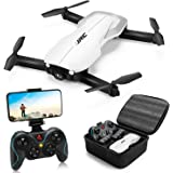 Drones with 1080P HD Camera for Adults,JJRC Foldable Drone with 2 Batteries,Optical Flow Positioning Quadcopter with…