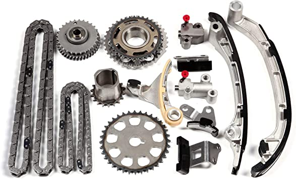 OCPTY Timing Chain Kit fits for 2005-2012 Toyota 4RUNNER Tacoma 2.7L 2TRFE 2TR-FE DOHC