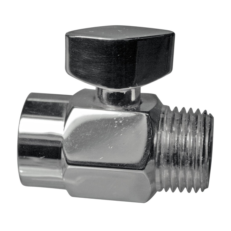 Westbrass 1/2'' Shower Arm Volume Control Trickle Valve, Polished Chrome, D309-26